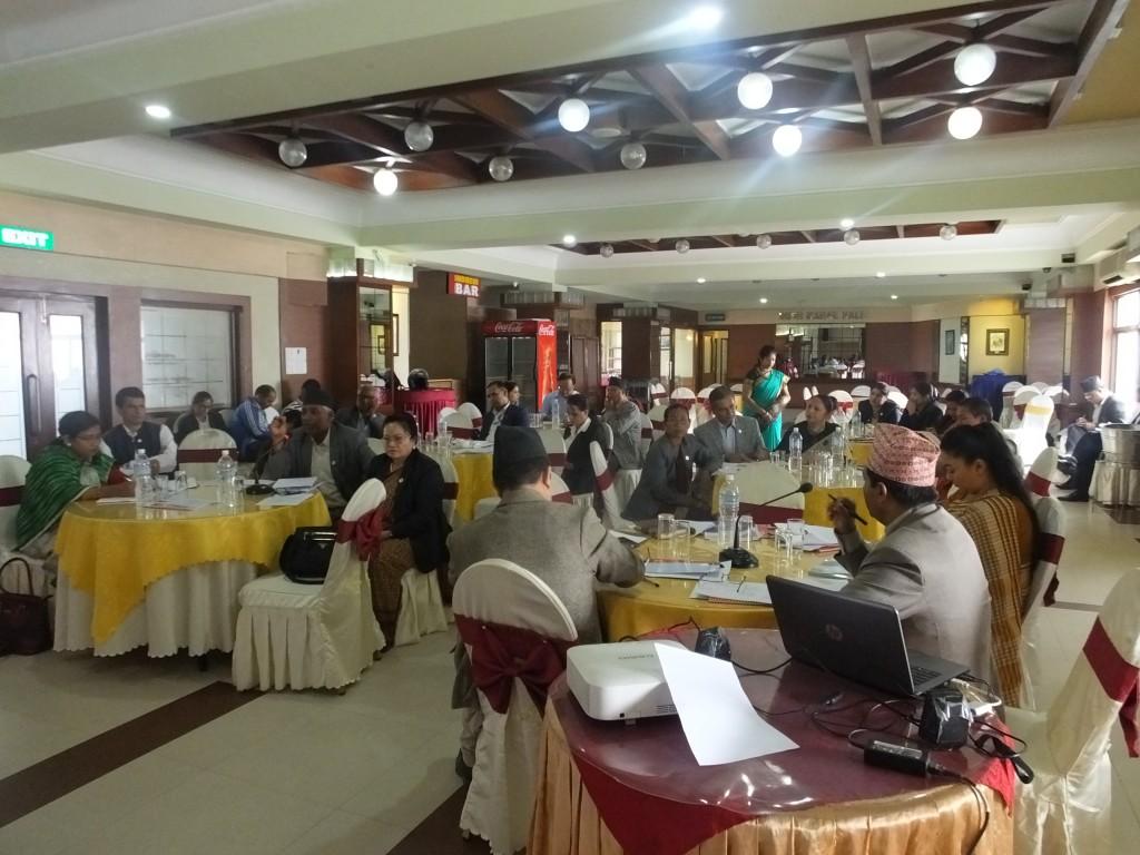 संघीय संसदको महिला तथा सामाजिक समितिका माननीय सदस्यहरुसंगको  बालबालिकाको विषयमा अन्तरक्रिया कार्यक्रम